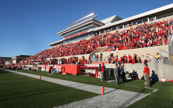 Hancock stadium at Illinois State University